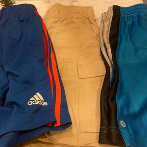 A bundle of shorts for an 8 years old boy